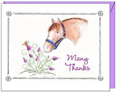 Thank you - Many Thanks Greeting Card