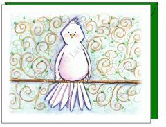 Cope - Birdy Greeting Card