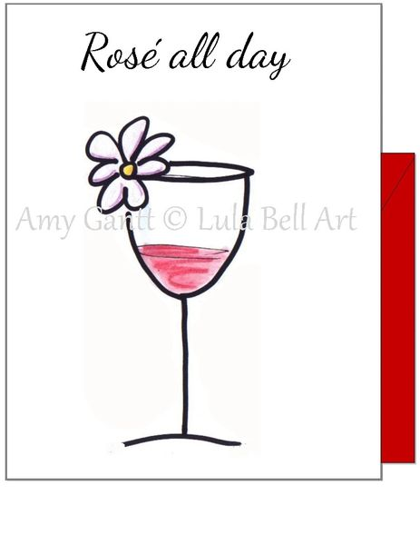 Birthday - Rose All Day Greeting Card