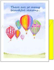 Birthday - Balloon Festival Greeting Card