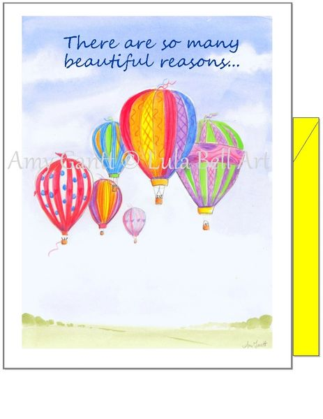 Birthday - Balloon Festival Greeting Card