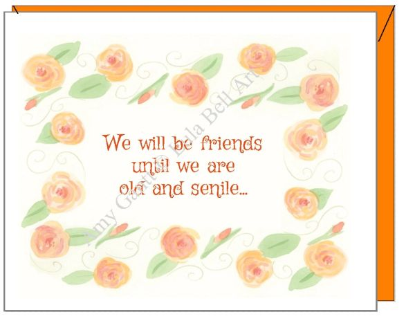 Birthday - Forever Friends Greeting Card