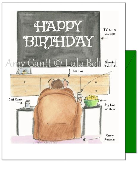 Birthday - Just the way you like it Greeting Card