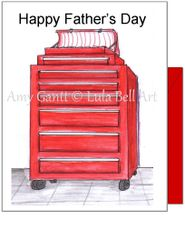Father's Day - Tool Box Greeting Card