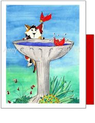 Friendship - Friendly Visit Greeting Card