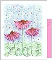 Friendship - Cosmos Greeting Card