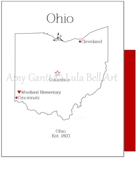 Ohio Note Cards