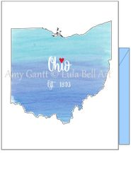 Ohio Blue Note Cards