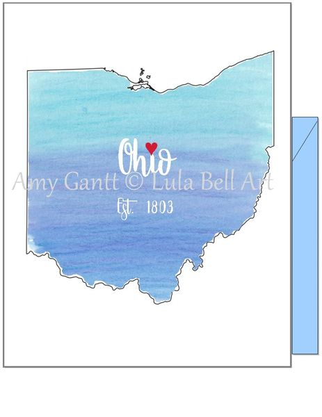 Ohio Blue Note Cards