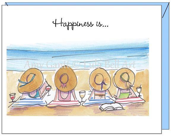 Friendship - Bathing Beauties Greeting Card