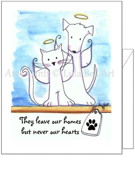 Sympathy - Pet Sympathy Greeting Card