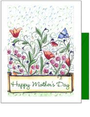 Mother's Day - Happy Mother's Day Greeting Card