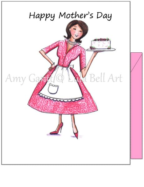 Mother's Day - Mom of Style Greeting Card