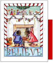 Christmas - Believe Greeting Card