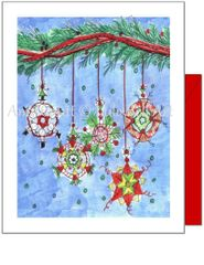 Christmas - Have a Merry Little Christmas Ornament Card