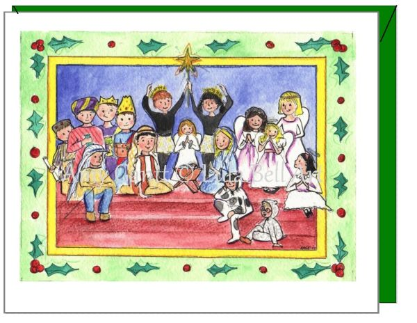 Christmas - The Pageant Card