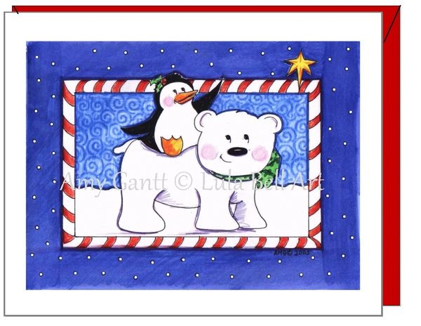 Holiday - Polar Buddies Card