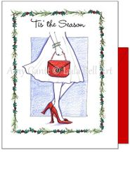 Christmas - Tis' the Season Greeting Card