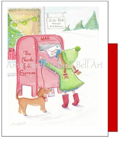 Christmas - North Pole Express Greeting Card