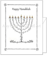 Hanukkah - Hanukkah Greeting Card