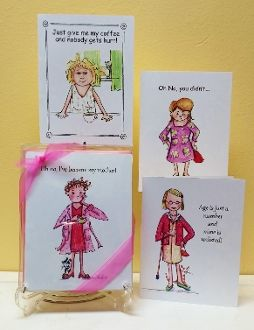 Cranky Ladies Assorted Boxed Note Cards