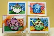 Teapot Assorted Boxed Note Cards