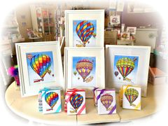 Hot Air Balloon Assorted Boxed Note Cards