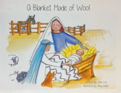 """A Blanket Made of Wool"" Christmas Children's Book."