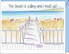 Beach Walk Note Cards