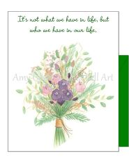 Friendship - Linda's Bouquet Greeting Card