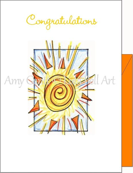 Graduation - Shine Greeting Card