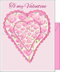 Valentine - Valentine Love Greeting Card