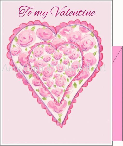 Valentine - Valentine Love Greeting Card