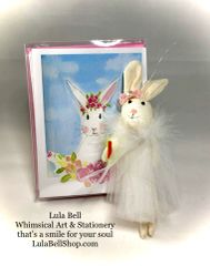 Bunny Boxed Note Cards with FREE Bunny Ornament