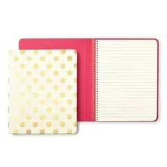 kate spade new york spiral notebook - gold pavilion