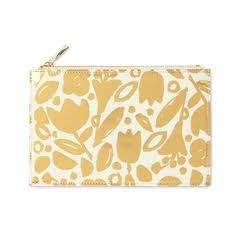 kate spade new york Pencil Pouch, Golden Floral
