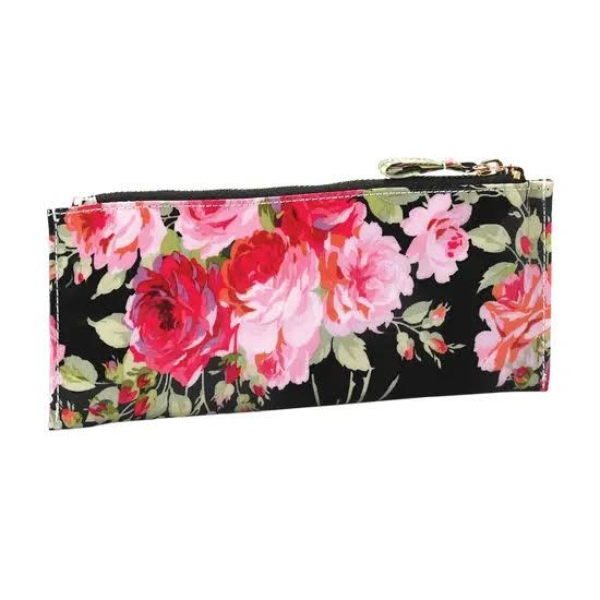 Rose Black Pencil Case