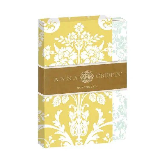 Amelie Damask Notebook Set