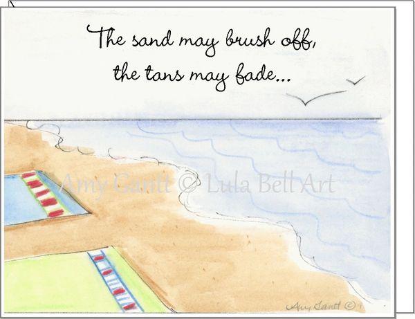Friendship - Beach Memories Greeting Card