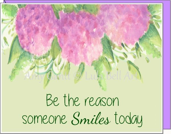Be the reason someone Smile today Boxed Note cards