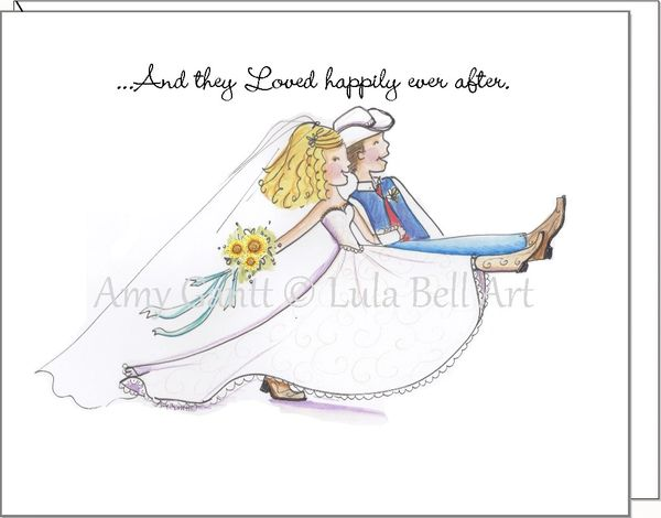 Wedding - Country Wedding March Greeting Card