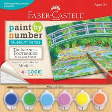 Paint by Number Museum Series - The Japanese Footbridge Faber-Castell