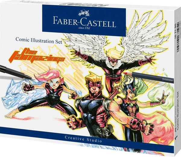 Comic Illustration Set Faber-Castell