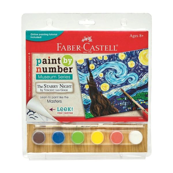 Paint by Number Museum Series - The Starry Night Faber-Castell