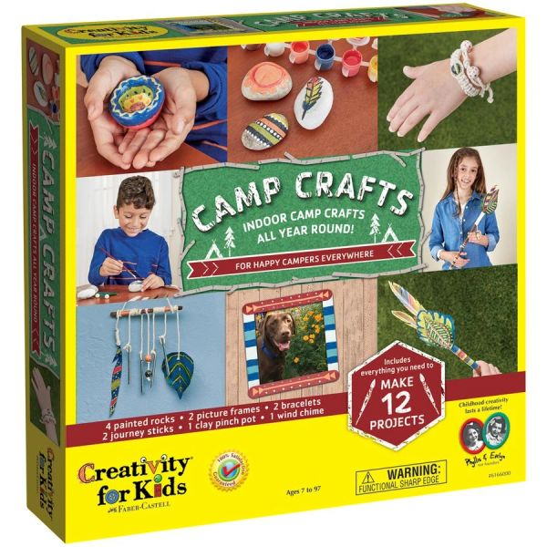 Camp Crafts 12 Projects Faber-Castell