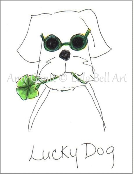 Lucky Dog Boxed Note Cards