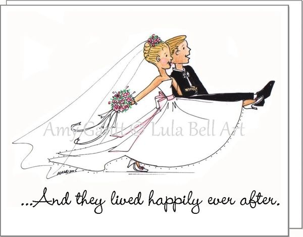 Wedding - The Wedding March Greeting Card