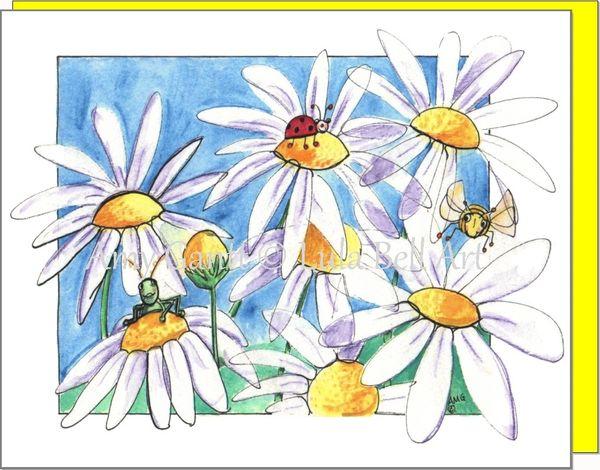 Daisy Garden Boxed Note Cards