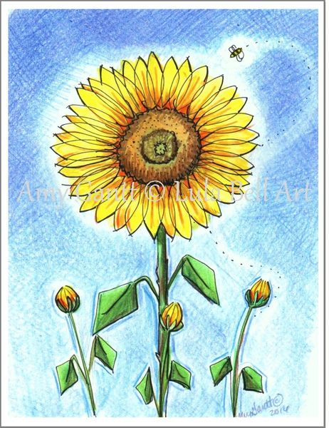 Sunflower Boxed Note Cards