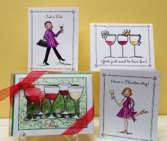 Wine Assortment Boxed Note Cards